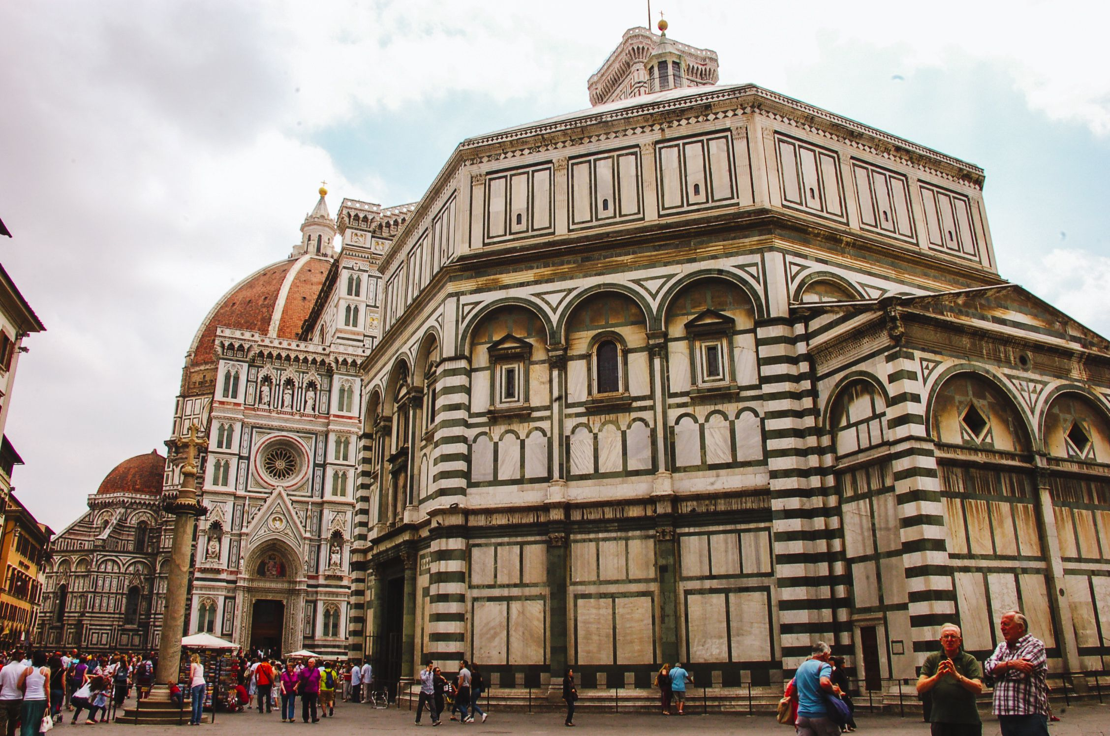 A shot of the Duomo in Florence
