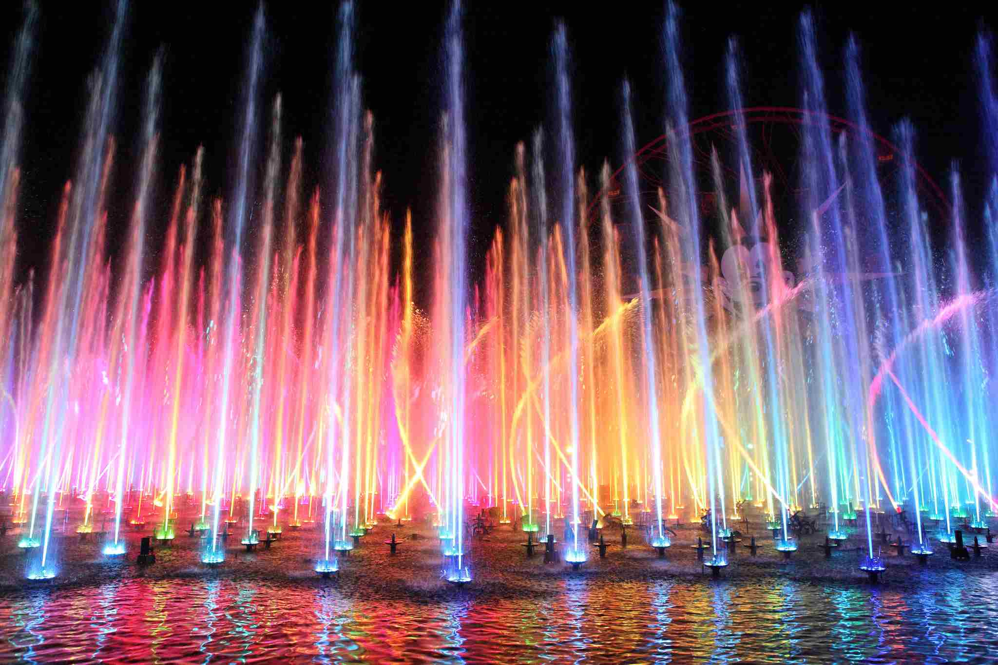 Fountains in World of Color