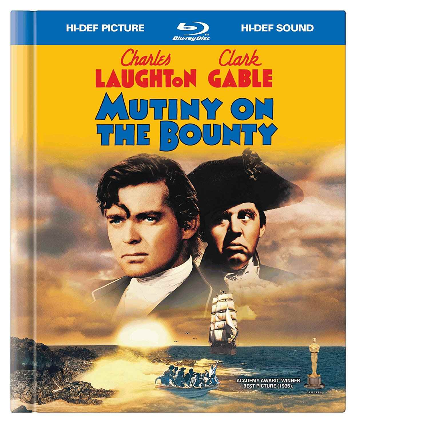 Mutiny on the Bounty dvd cover