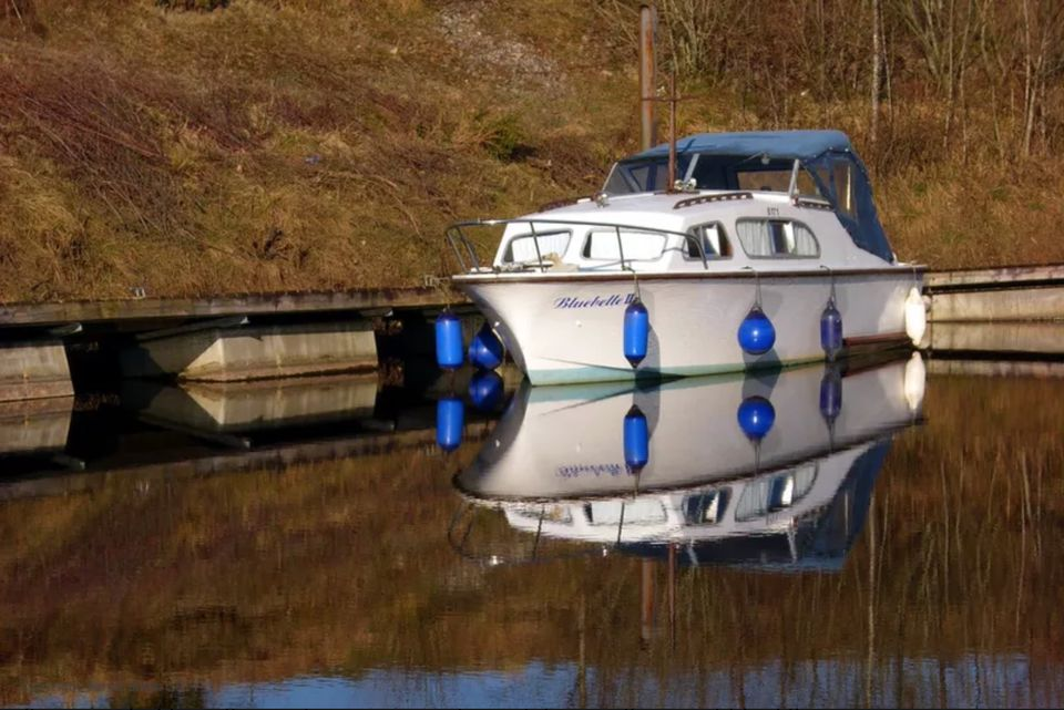 On Ireland's inland waterways - at the Shannon Erne Waterway