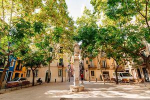 Plaça Sant Vicenç in Barcelona