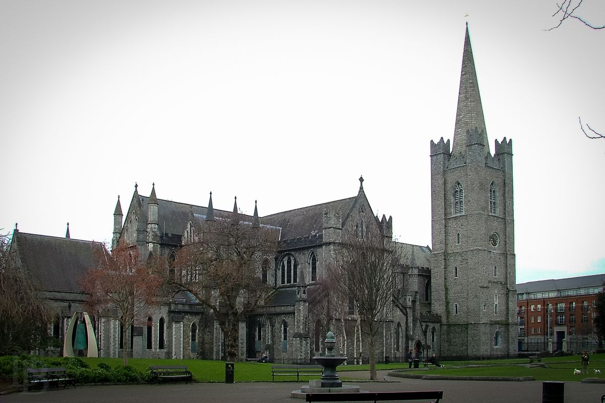 The exterior of Saint Patrick's Cathedral