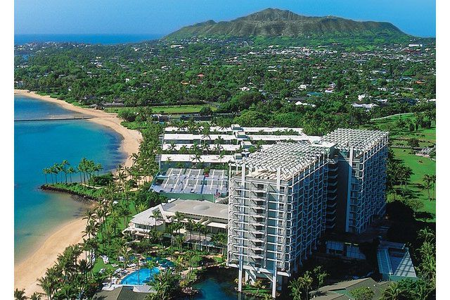 Aerial View of the Kahala Hotel & Resort