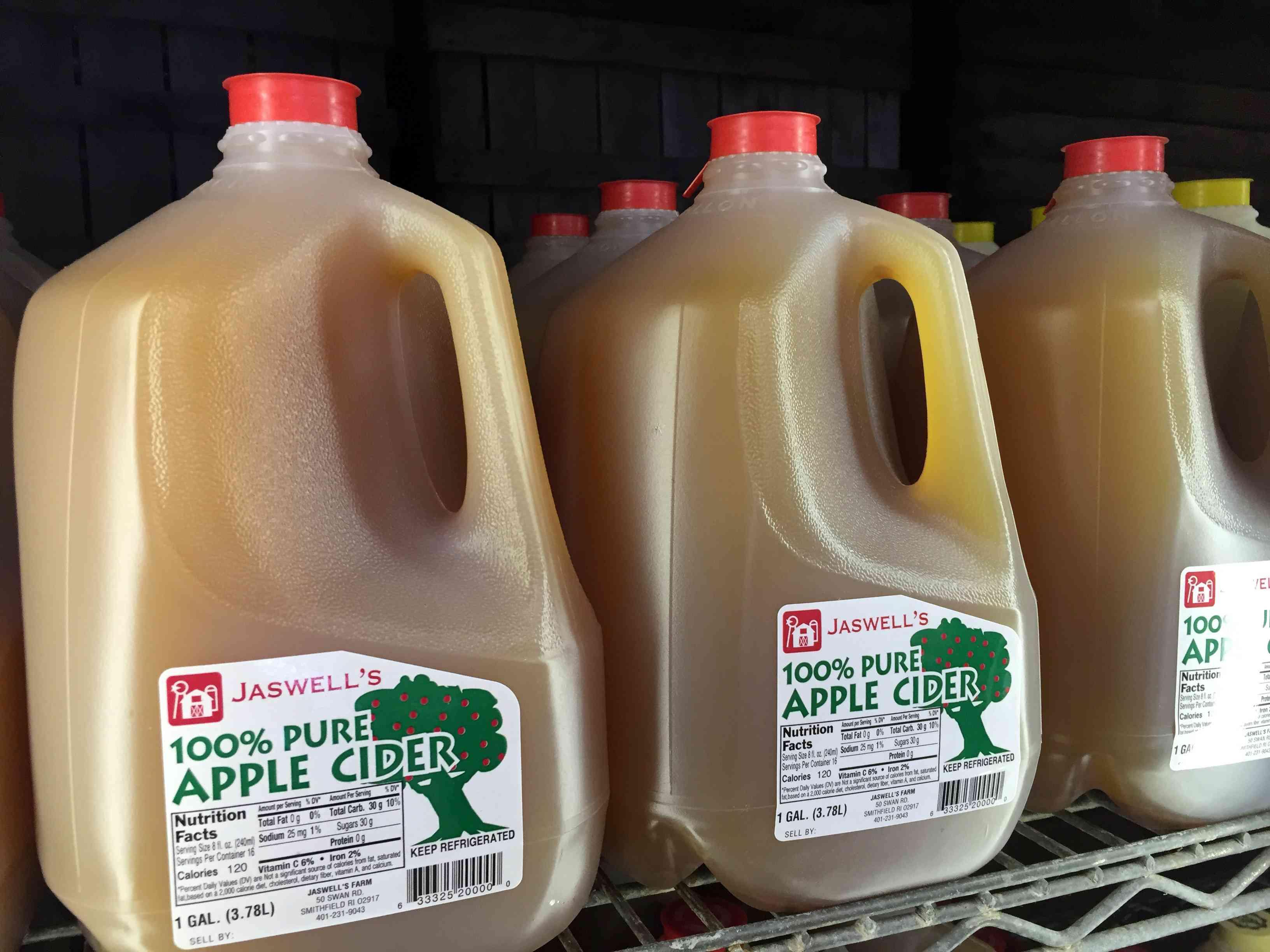 Jaswell's Cider Mill Rhode Island Fall Fun