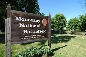 Monocacy National Battlefield sign