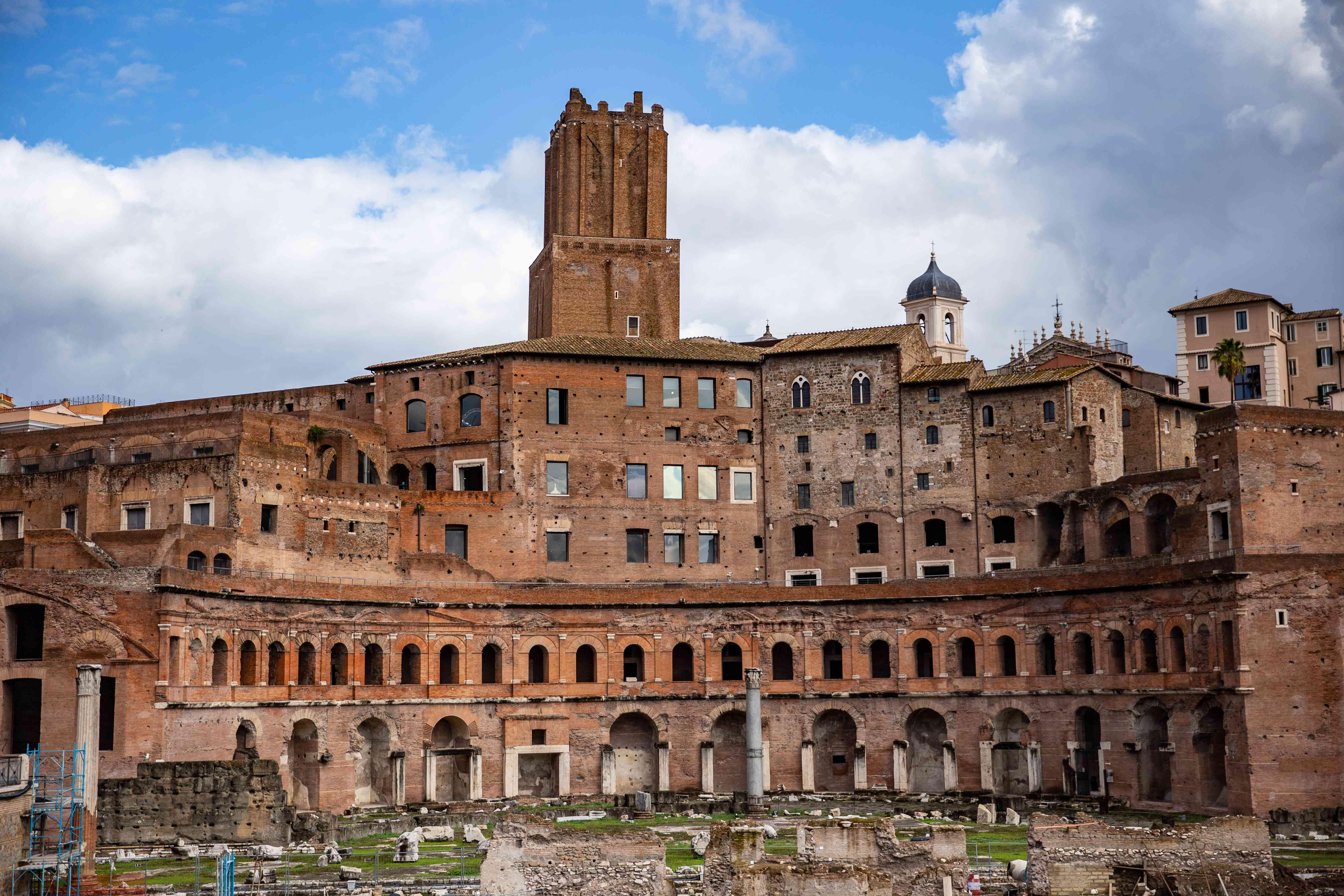 Trajan's Market & Forum in Rome