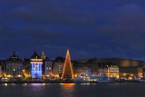 Stockholm, Sweden at Christmas