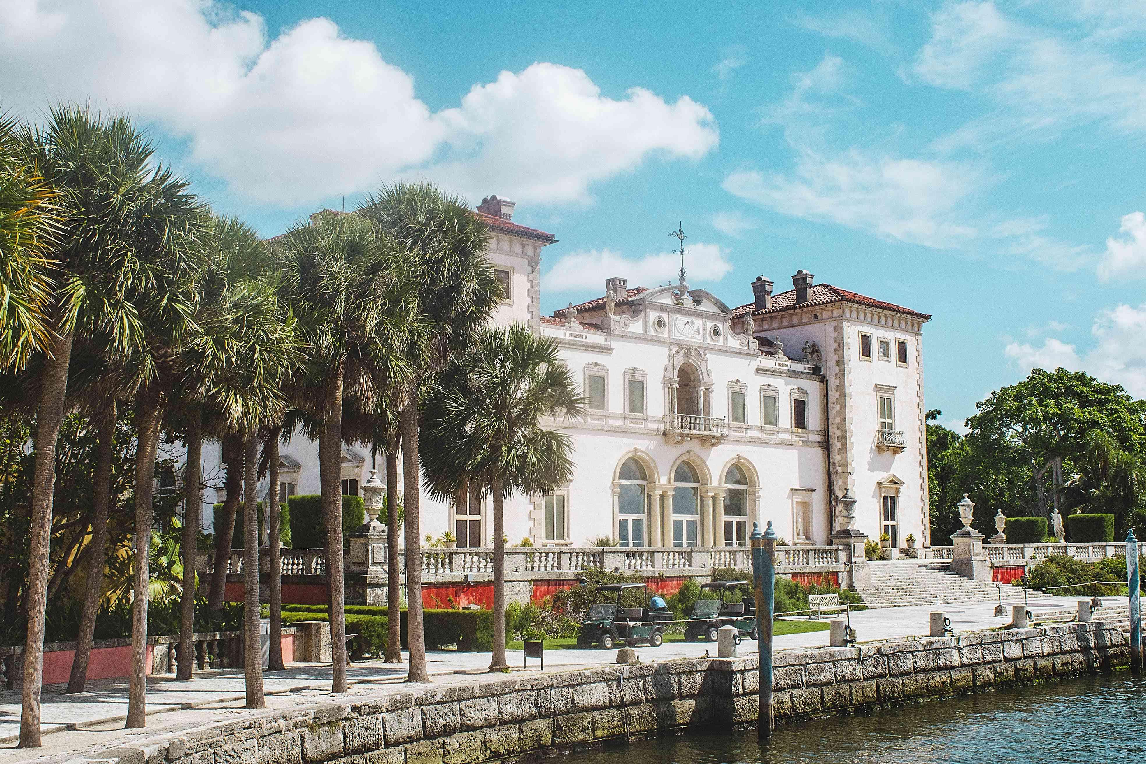 Vizcaya Mansion in Miami