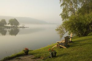 Adirondack Chairs by Deep Creek Lake, Maryland