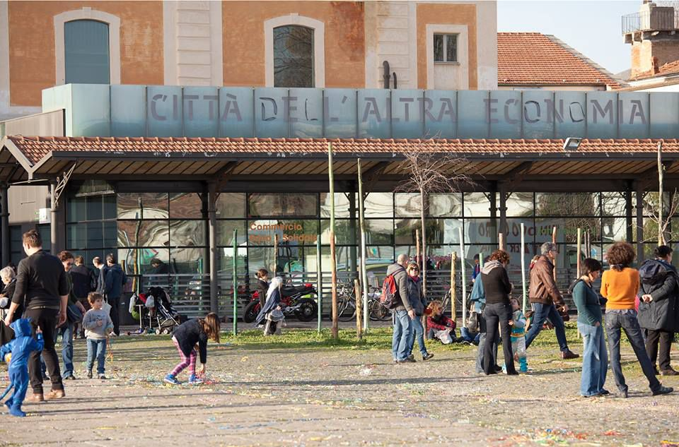Exterior of Città dell'Altra Economia - CAE