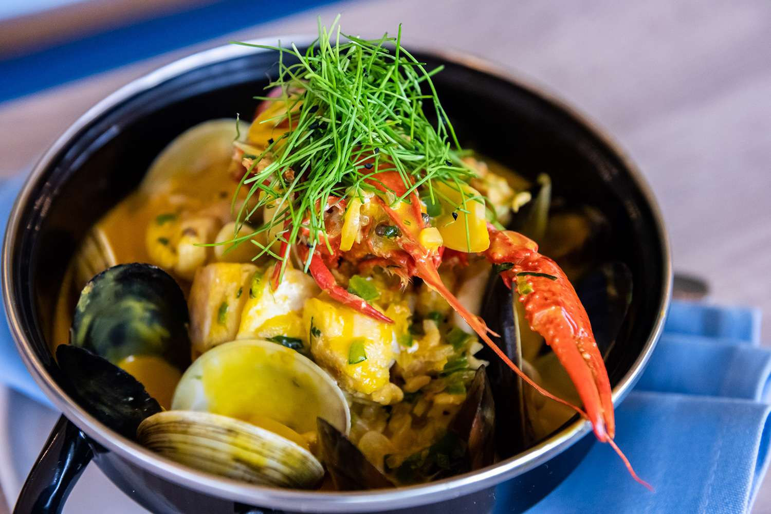 Seafood at Rivertail in Fort Lauderdale