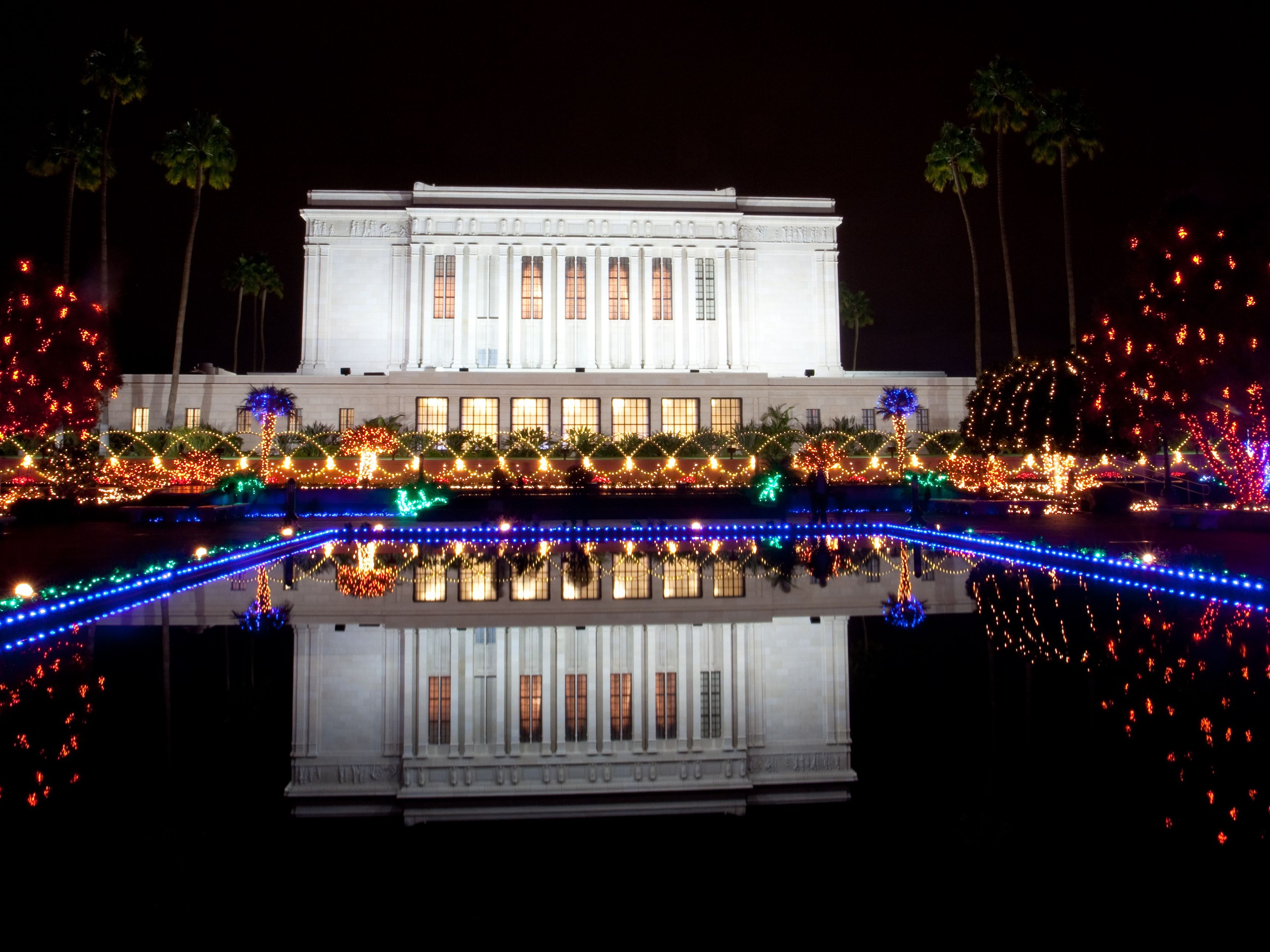 Mesa Mormon Temple Christmas Lights And Concerts 2018