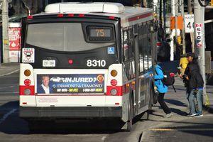 Toronto TTC bus