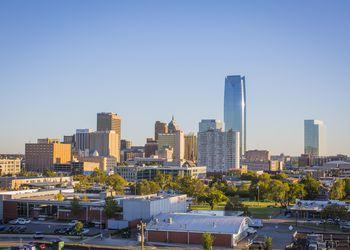 Oklahoma City downtown skyline