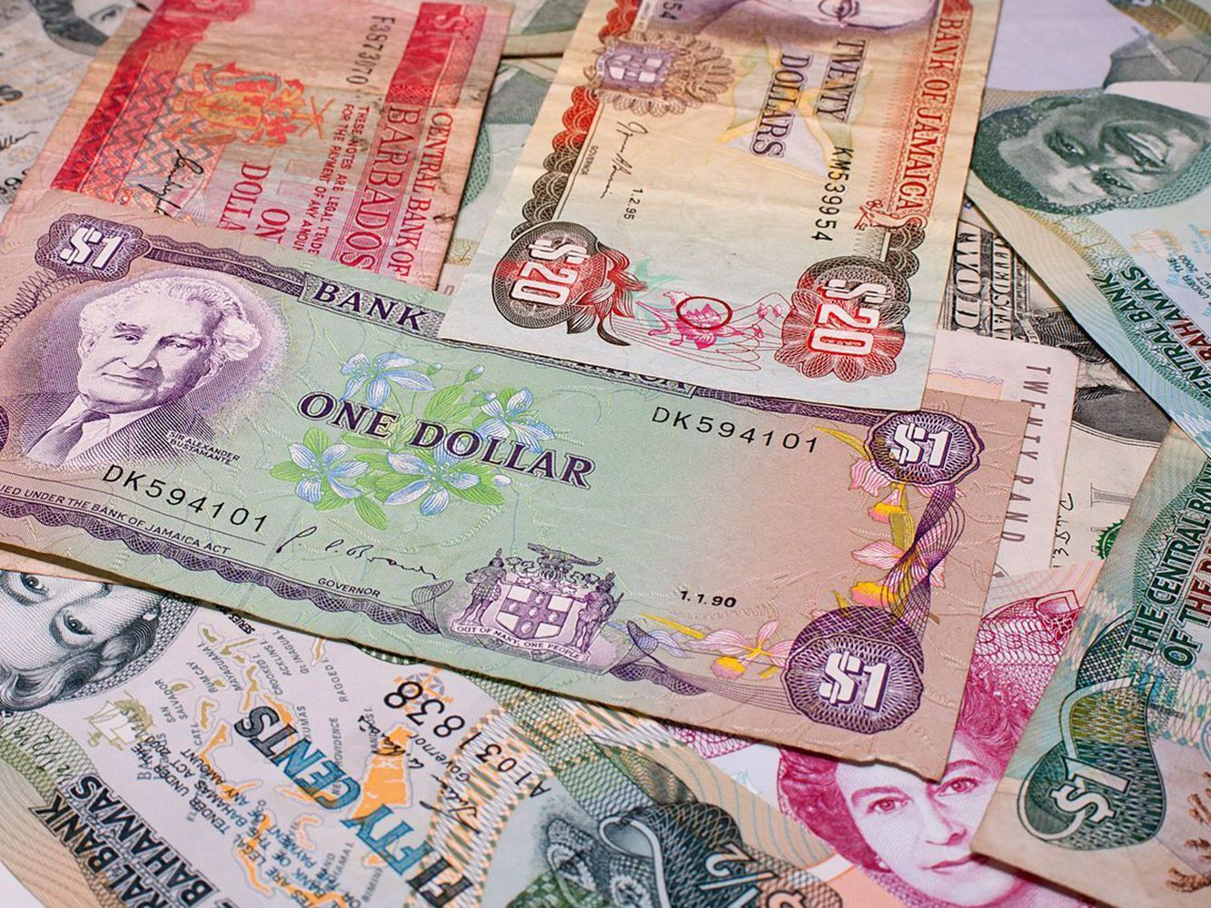 Currency Accepted In The Caribbean