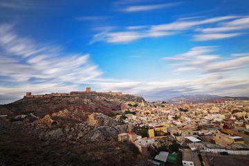 Vista general de la ciudad de Lorca desde el Monte Calvario
