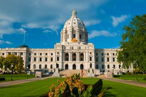 Minnesota State Capitol Building front view