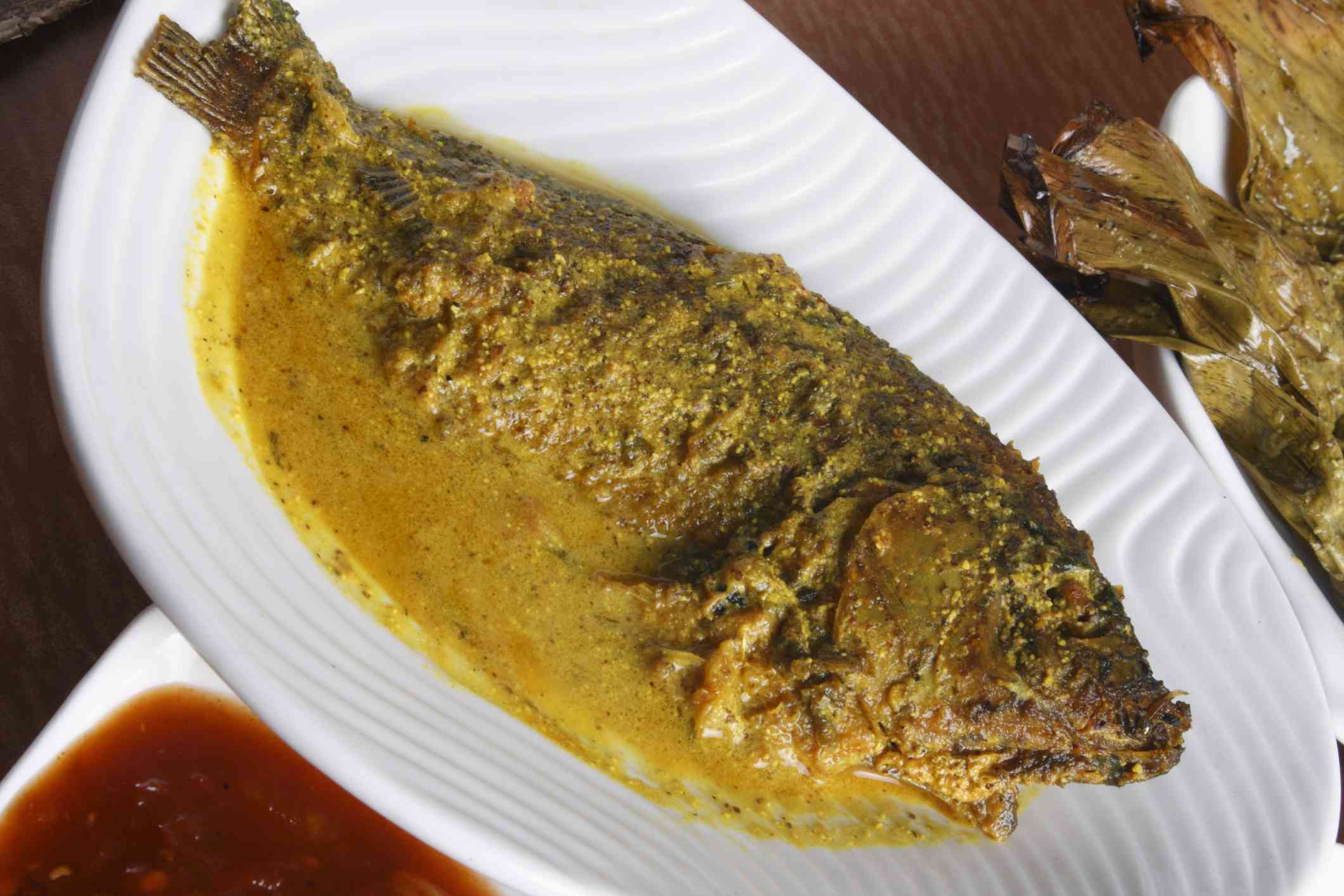 Maacher Jhol, Bengali fish curry.