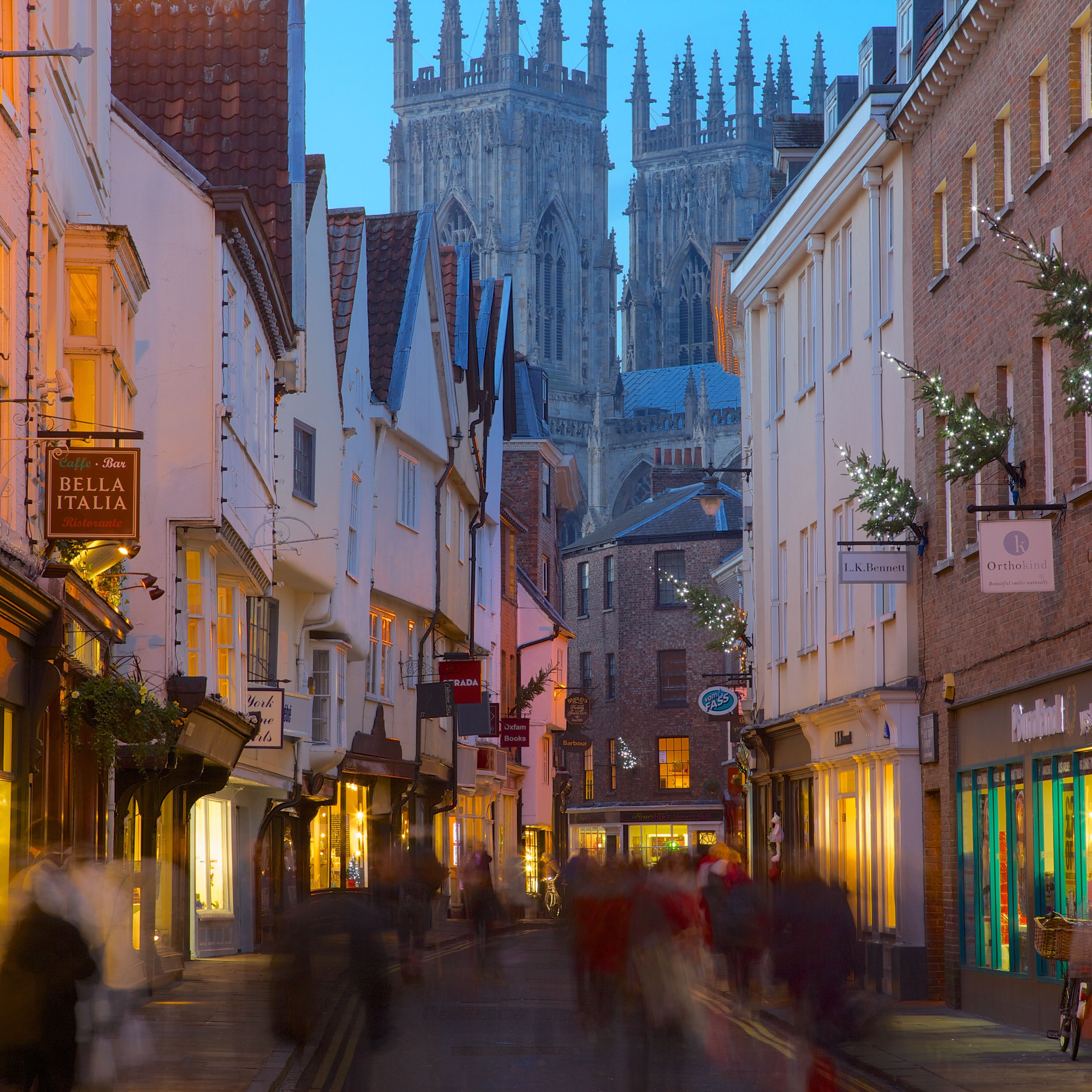 Christmas In England.Christmas Markets And Events In Medieval York England