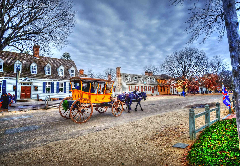 Carriage Ride through Colonial Williamsburg