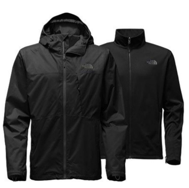 5144038e92 Best Overall  The North Face Arrowood Triclimate Jacket