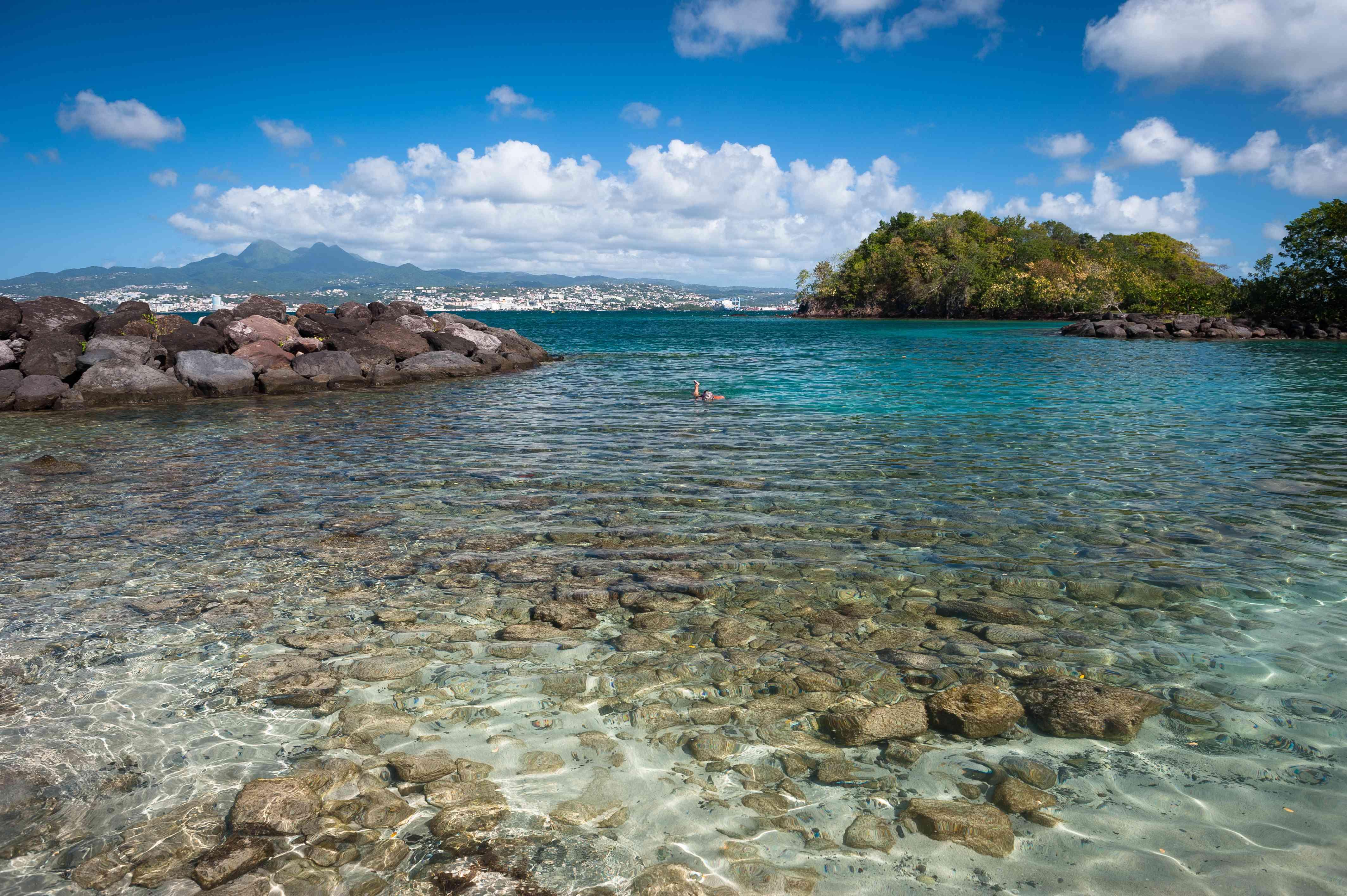 Beautiful Caribbean Sea, Trois Ilets, Martinique
