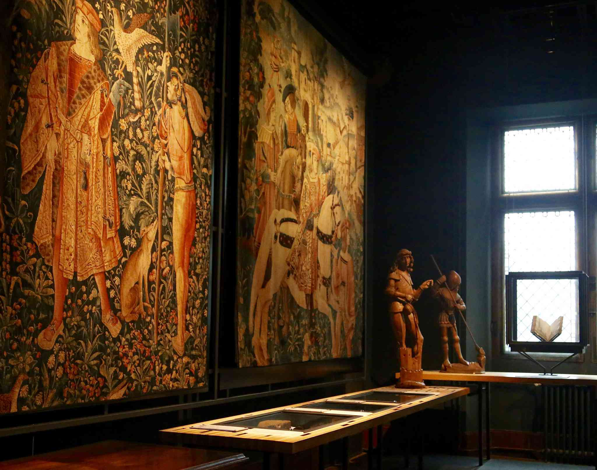 JR PFollow The Cluny Museum and the Unicorn Tapestries