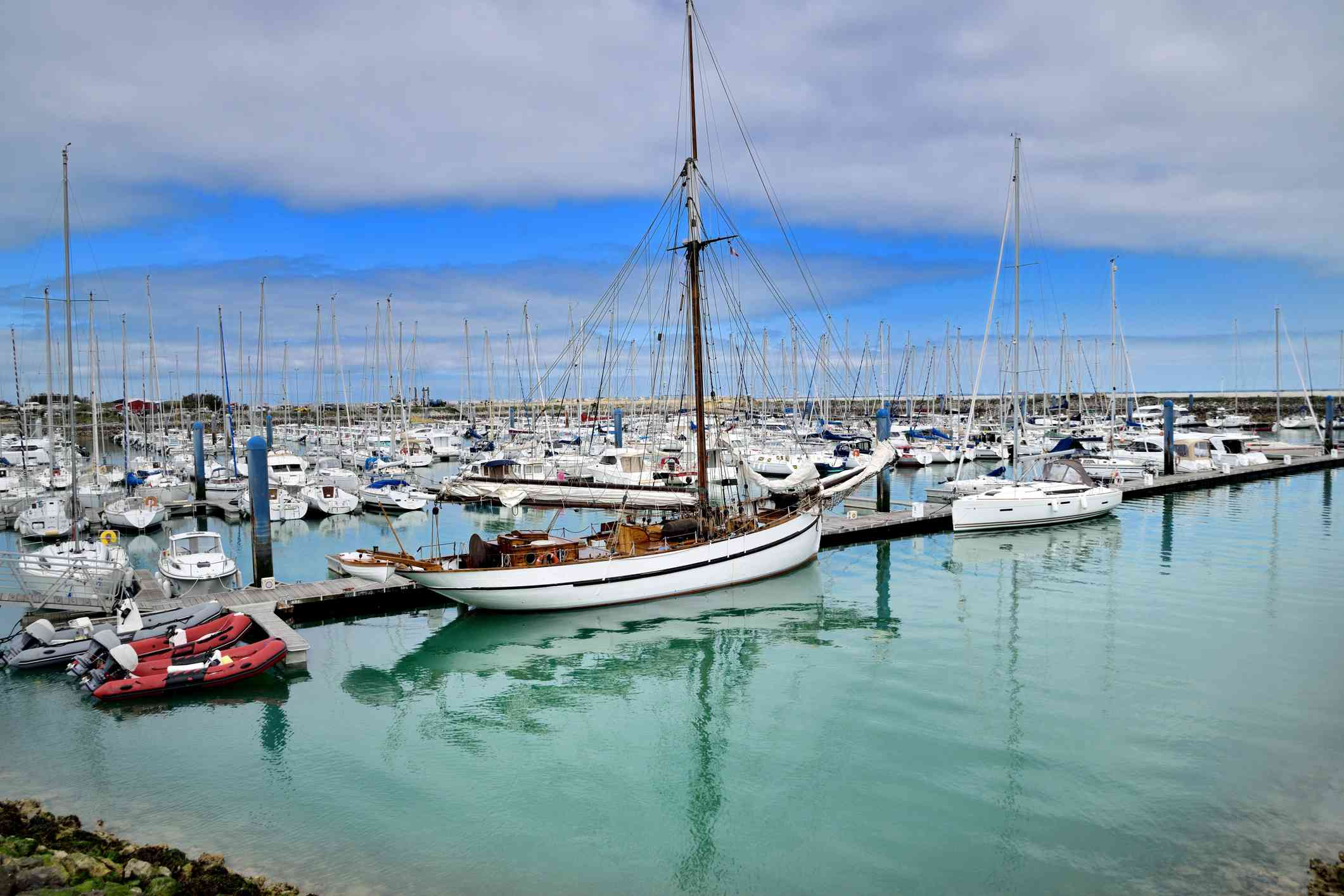 Marina, Île d'Oléron, Brittany, France