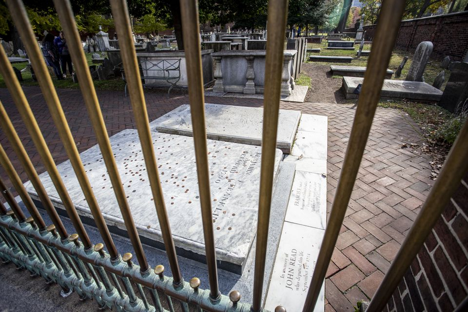 Christ Church Burial Ground, Philadelphia, PA