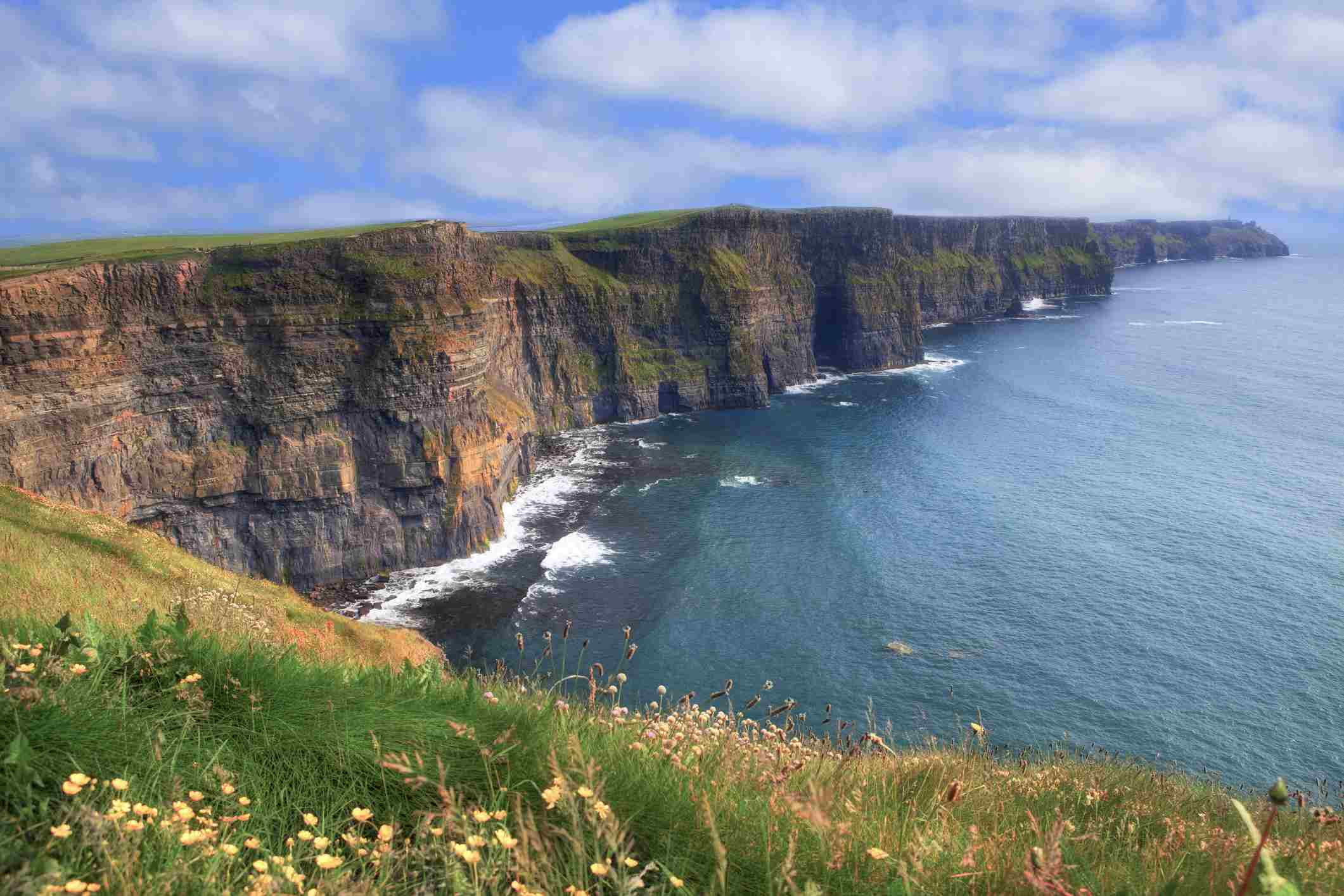 The Cliffs of Moher Were Used As 'The Cliffs of Insanity' In