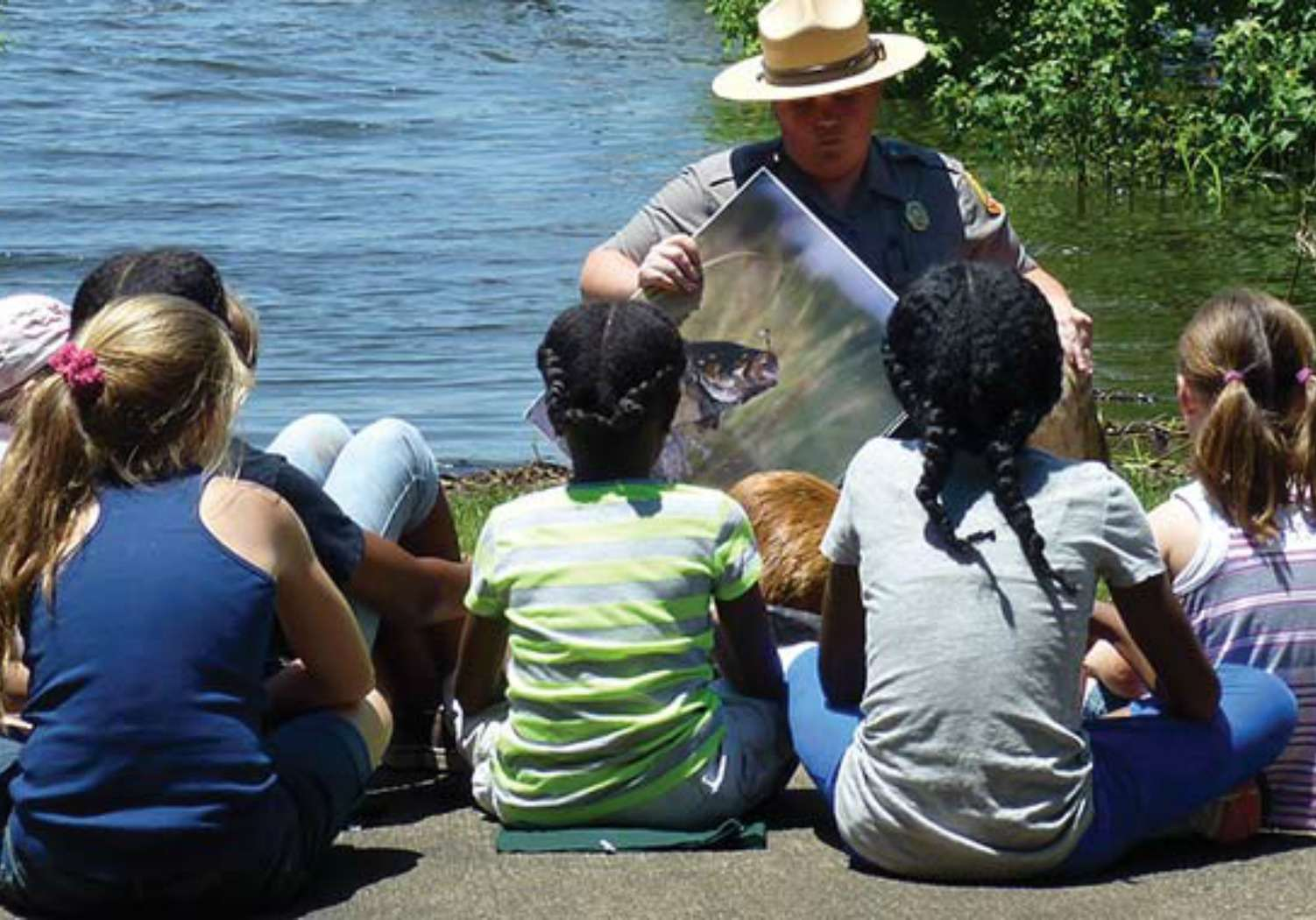 Programa Junior Ranger en el Parque Estatal Carolina Beach