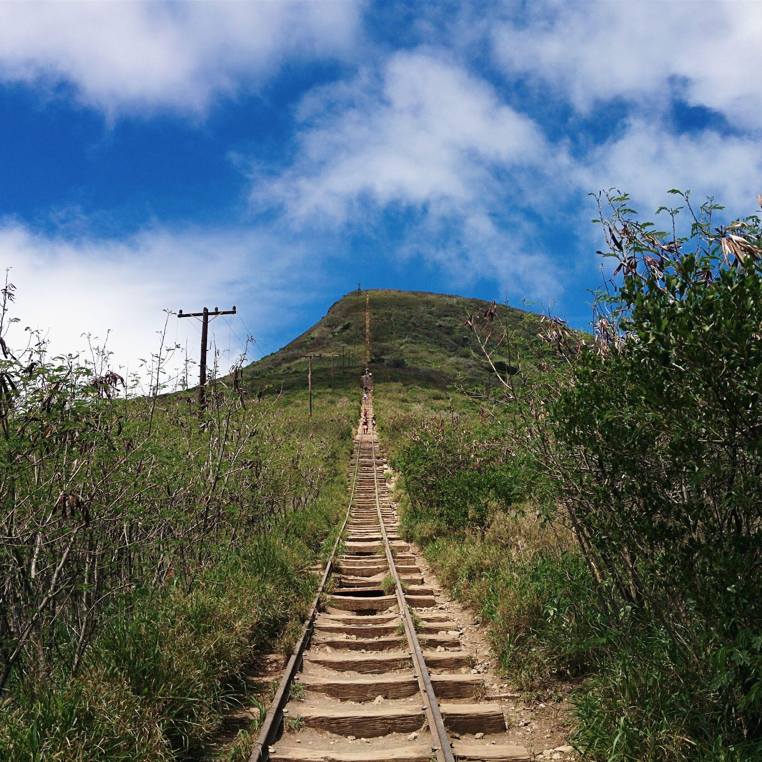 Hiking the Koko Head Stairs in Hawaii