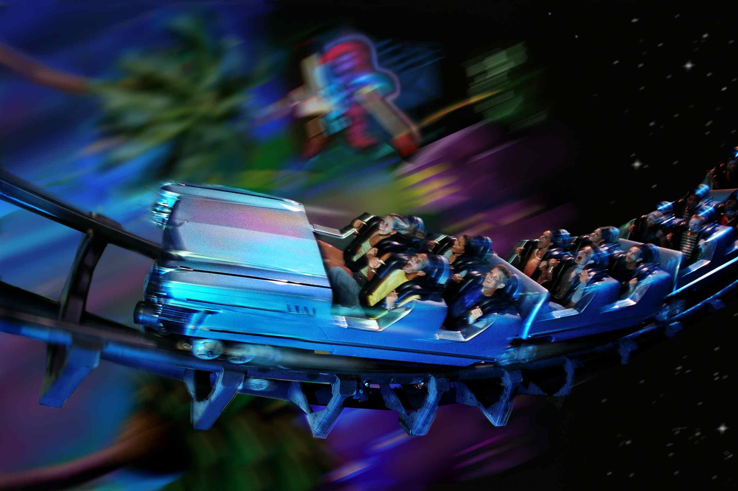 Rock 'n' Roller Coaster at Disney World