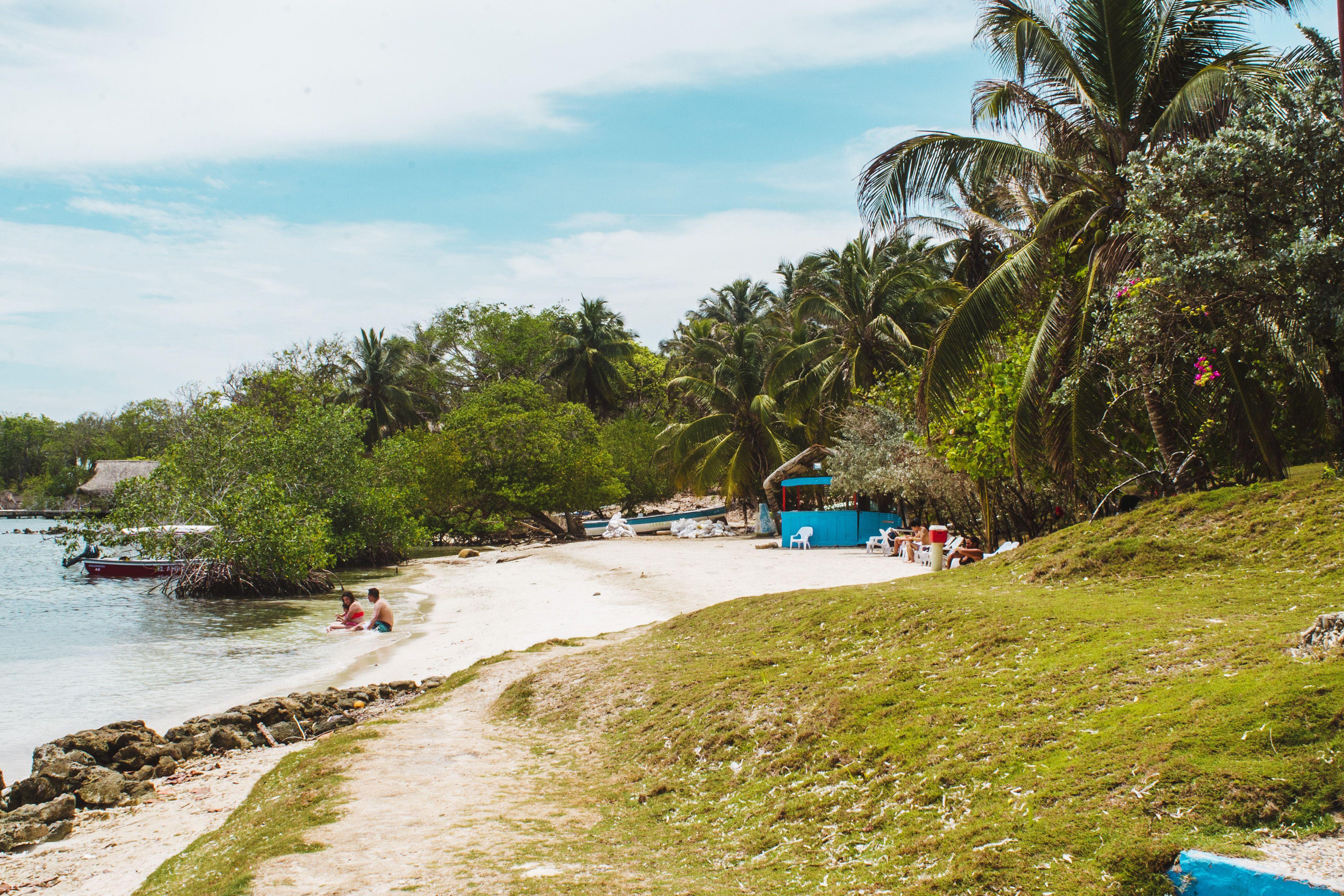 Isla Grande of the Rosario Islands