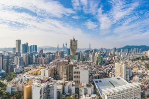 Panorama of Macau City