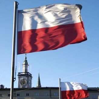 Poland's National Flag
