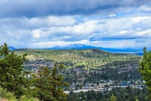 Bend, View from Pilot Butte State Park