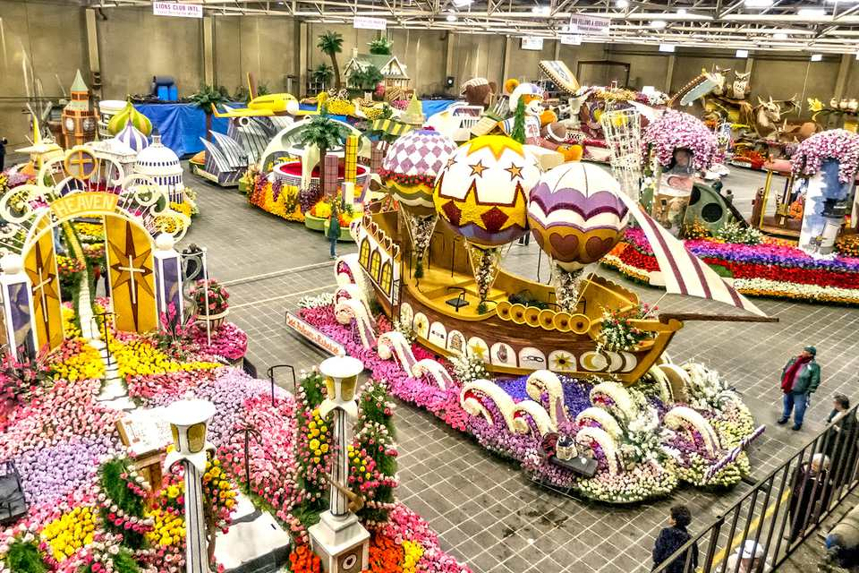 How To Watch Float Decorating For The Rose Parade