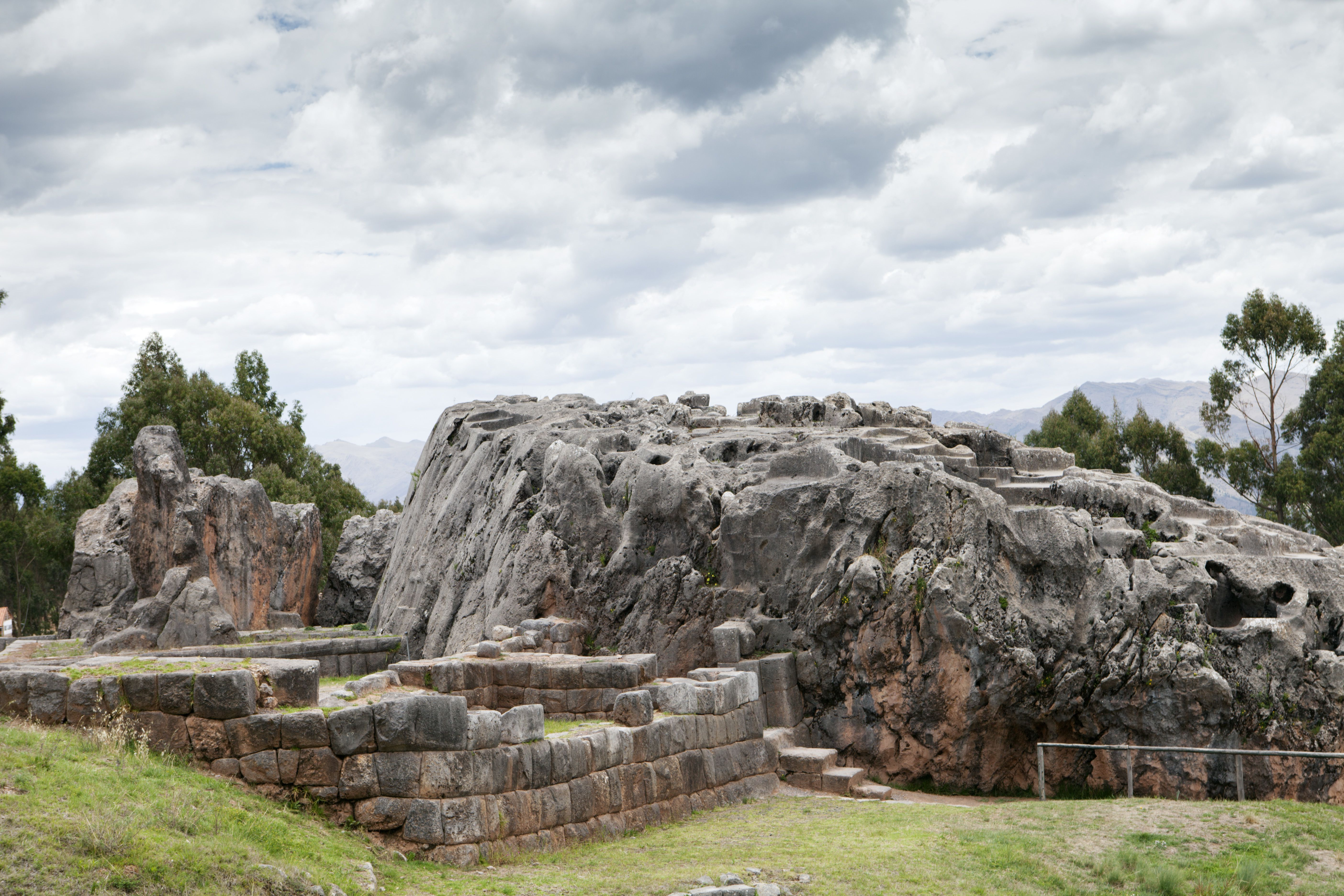The Inca ceremonial and sacred site of Qenqo near the UNESCO World Heritage listed former Inca capital of Cusco