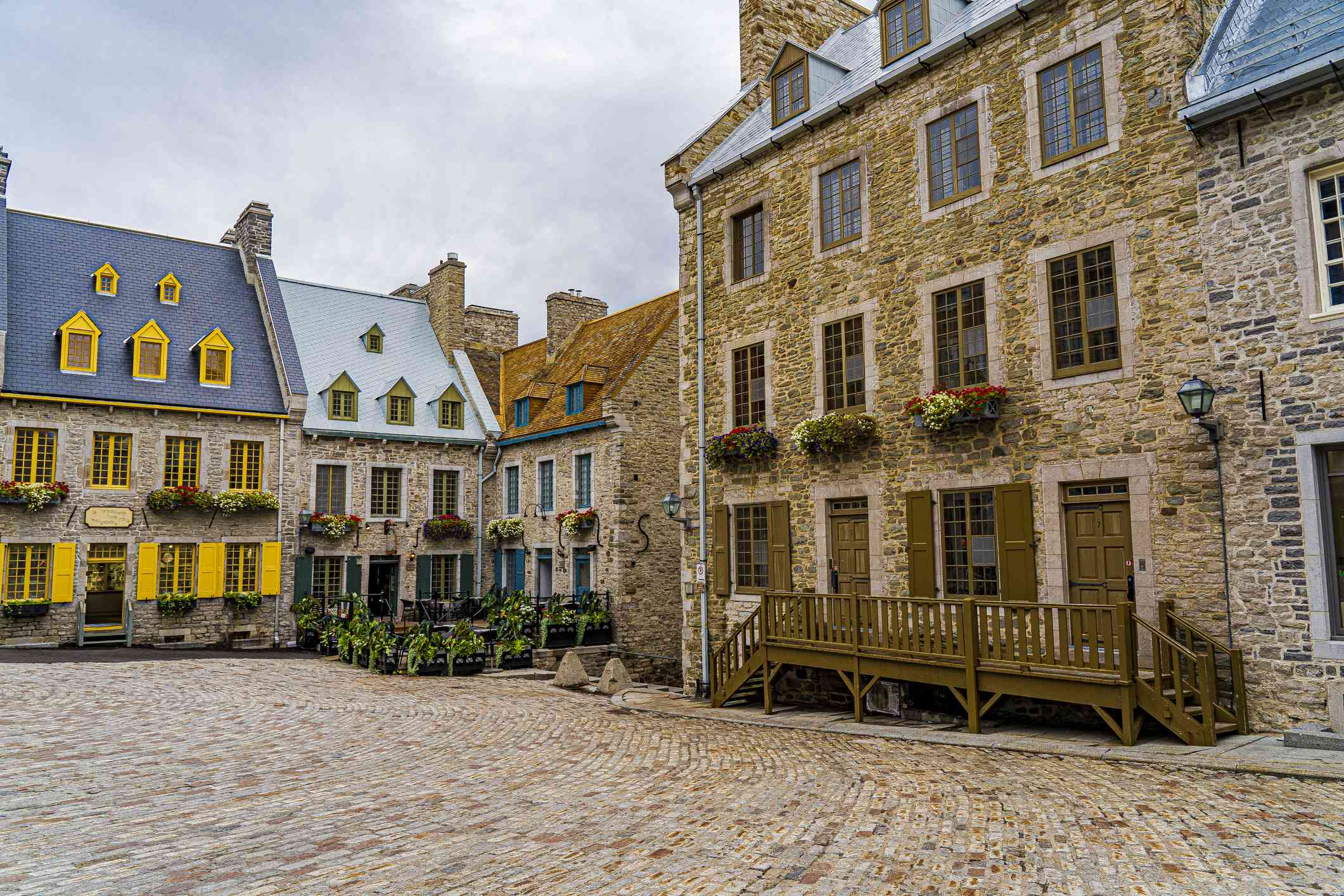 Place Royale in Old Town Quebec City