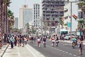 Pride parade in Tel Aviv