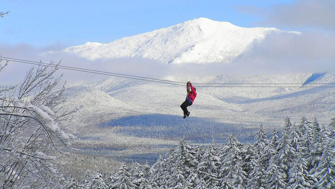 CANOPY TOUR AT BRETTON WOODS