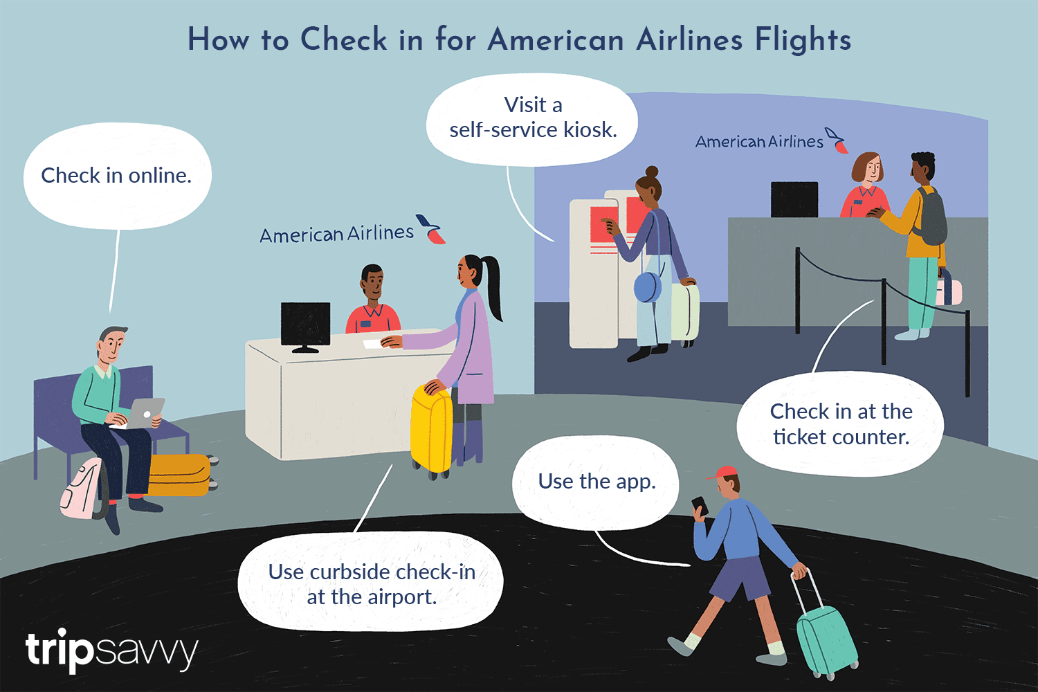 American Airlines Online Check In Rules