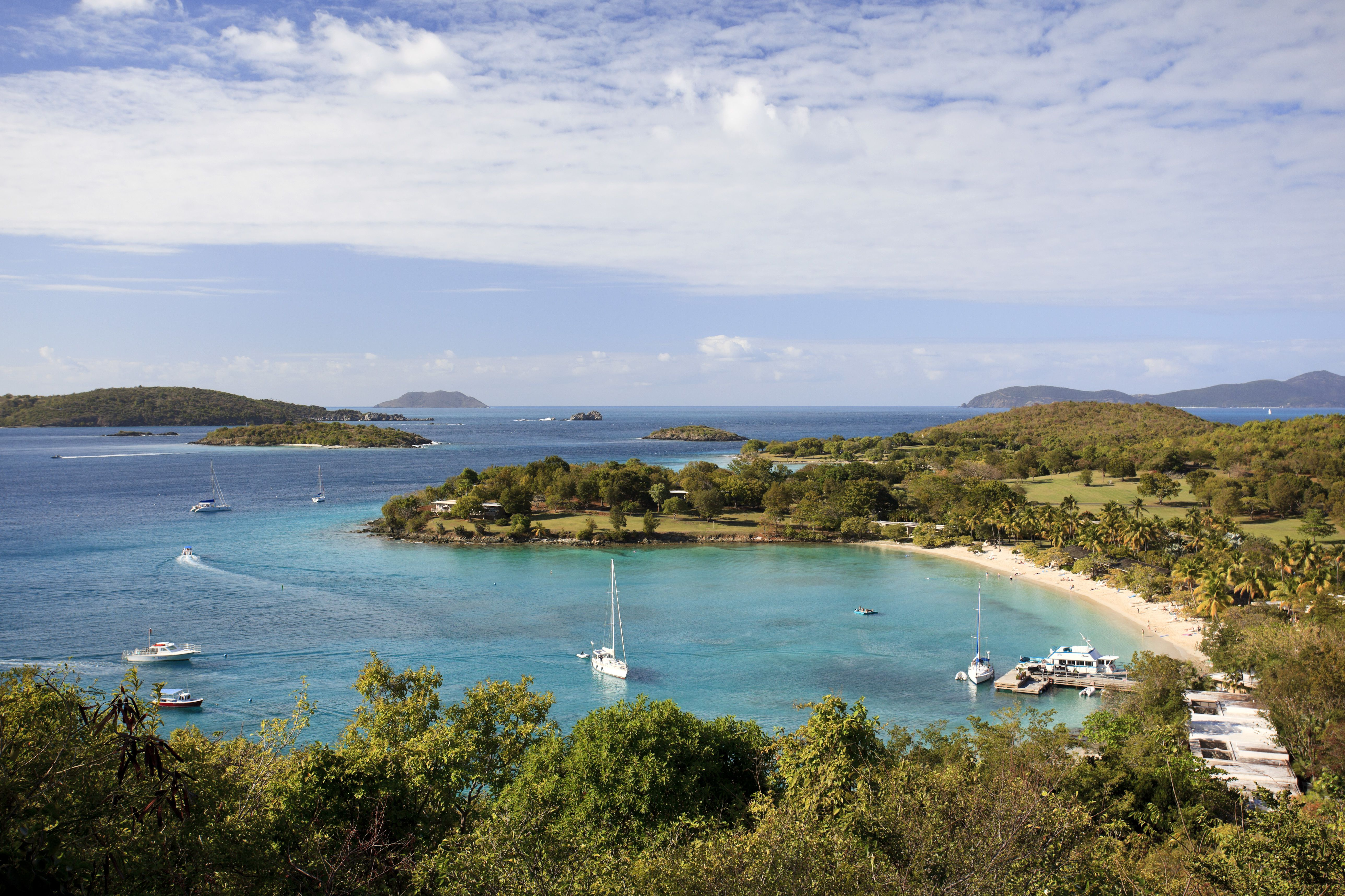 Virgin Islands National Park, Caneel Bay and resort