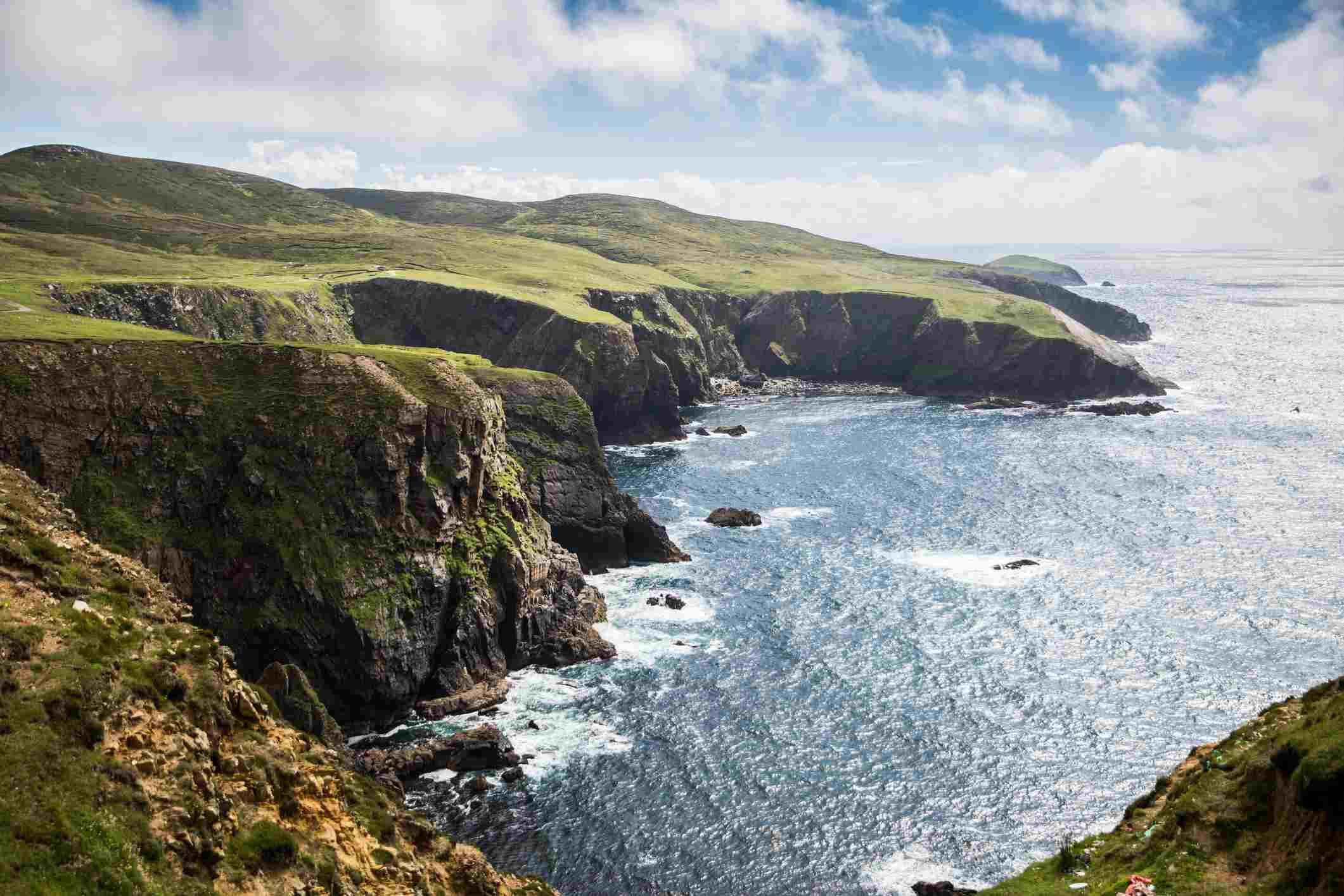 Coast of Arranmore Island