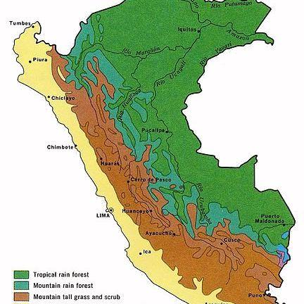 5 Maps of Peru