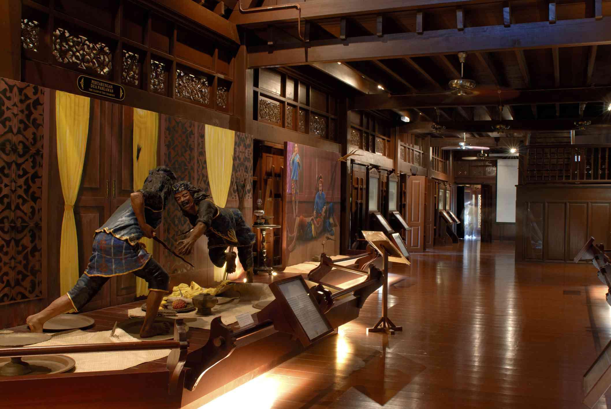 Hang Tuah diorama, Malacca Sultanate Museum