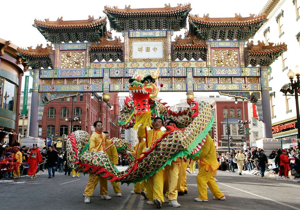 Desfile del Año Nuevo Chino, Washington, DC