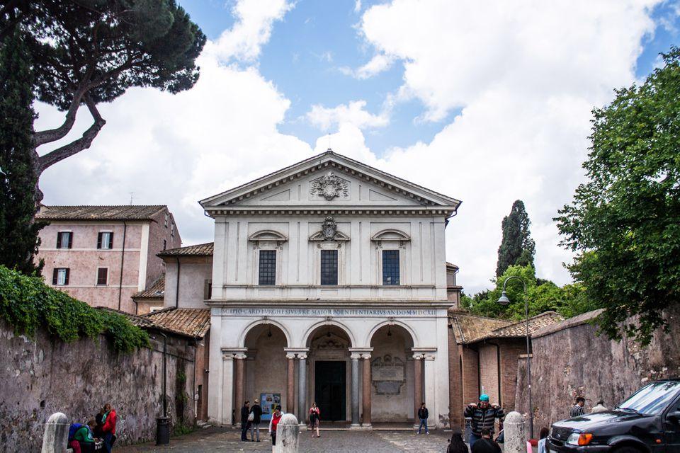 Church along the Appian Way