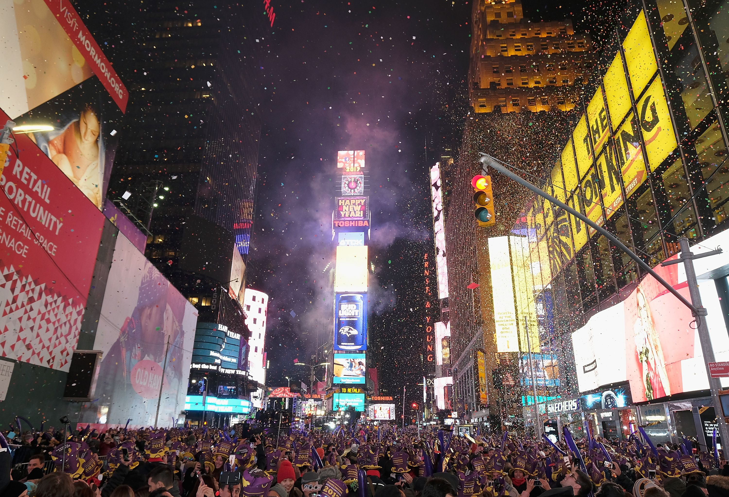 Celebrating New Year S Eve In Times Square